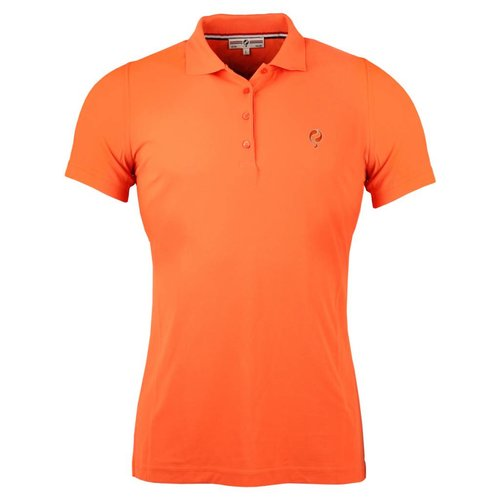 Dames Polo Square Orange