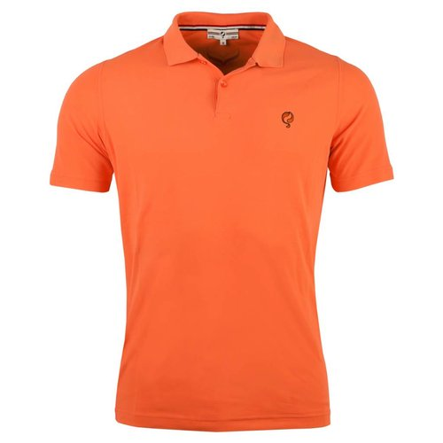 Men's Golf Polo JL Flag Orange