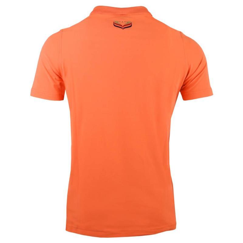 Heren Polo JL Flag Orange