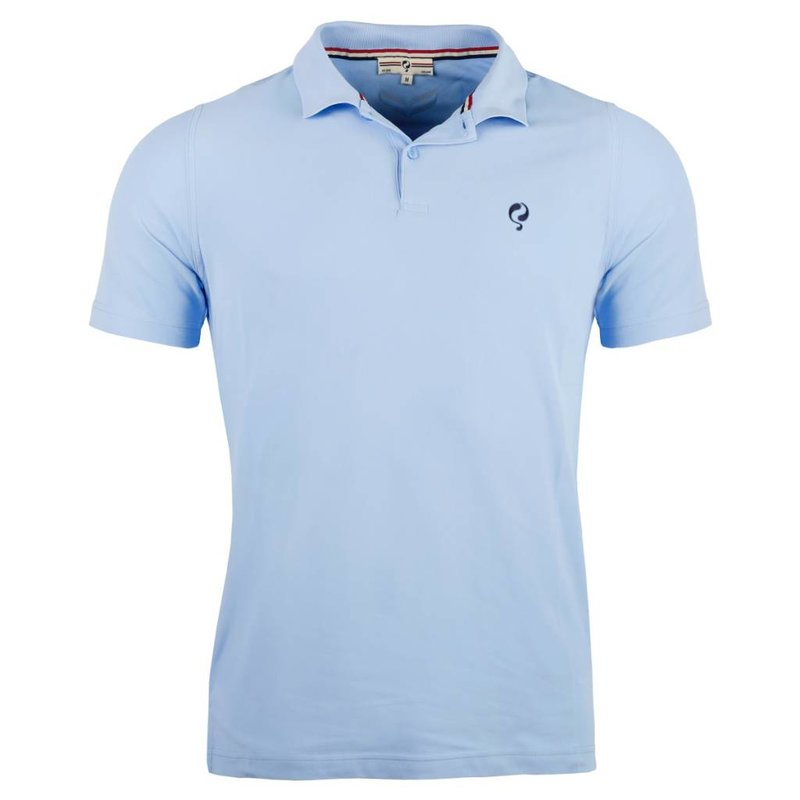 Men's Golf Polo JL Flag Lt Azul