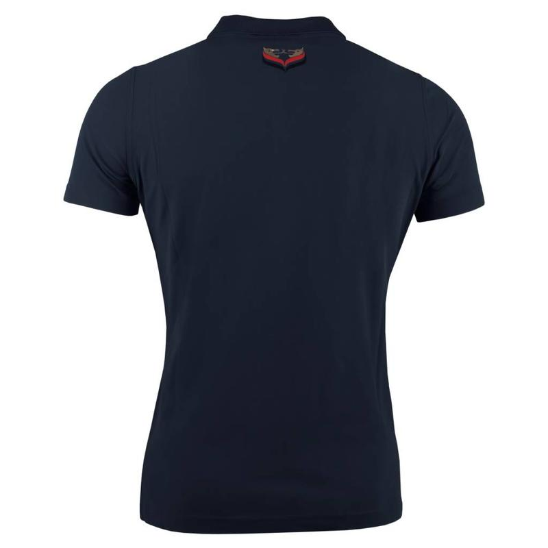 Women's Golf Polo Square Navy