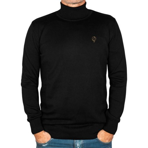 Heren Trui Rollneck Canvey Black