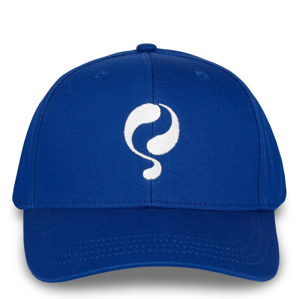 Q Cap Dutch Blue - White
