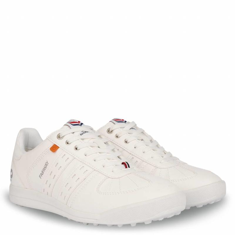 Golfschoen Heren Fairway White