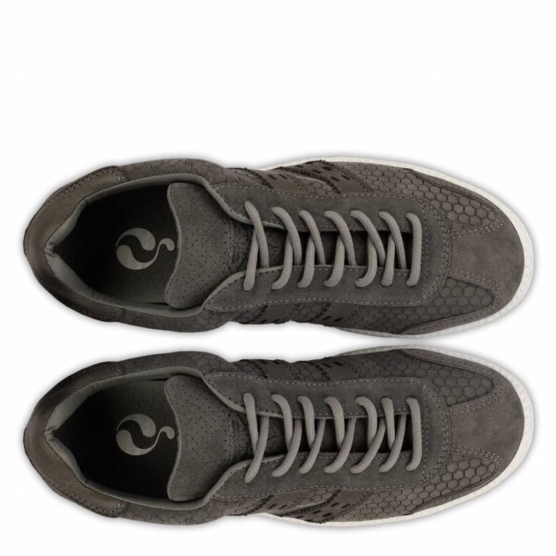 Q1905 Women's Sneaker Sarnia Dk Grey / Cloud Dancer