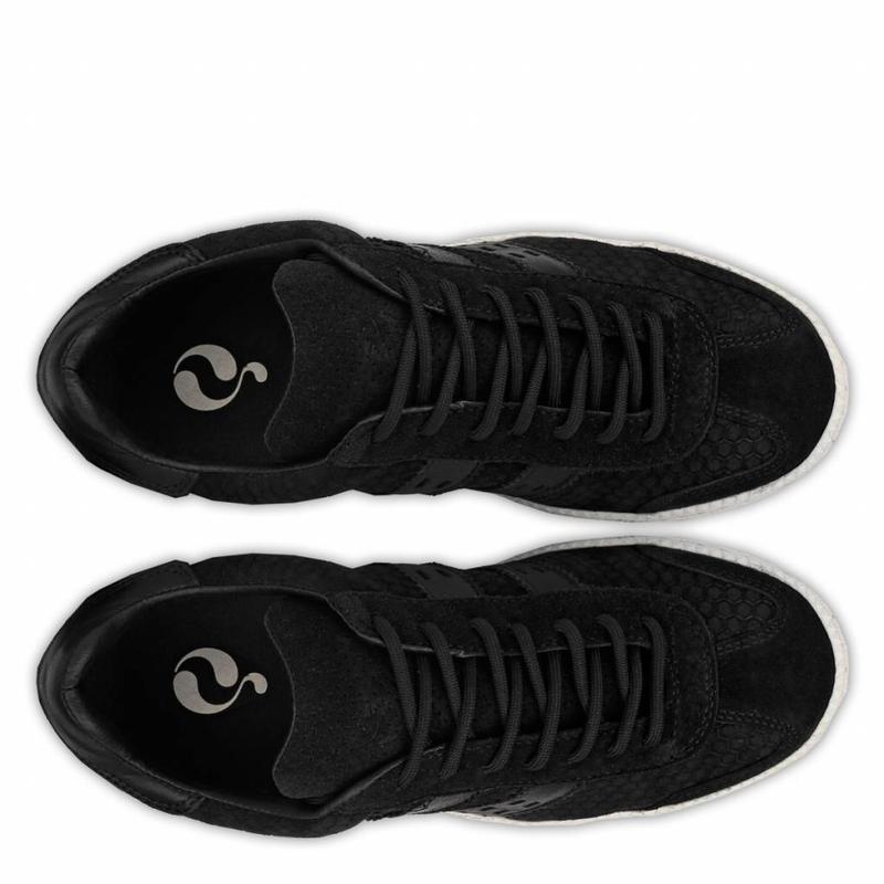 Q1905 Women's Sneaker Sarnia Black / Cloud Dancer