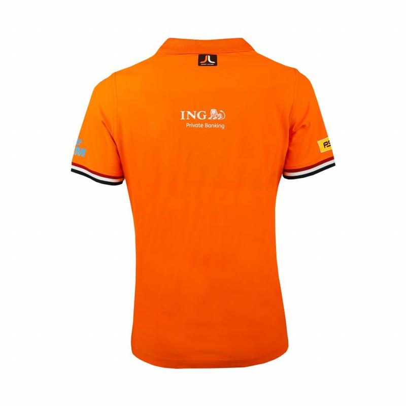 Kids Polo Joost Luiten Special Edition Dutch Orange