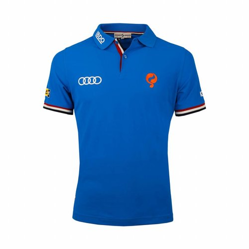 Kids Polo Joost Luiten Limited Edition Dutch Blue