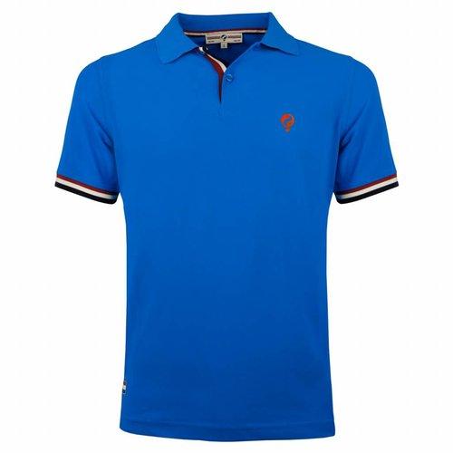 Heren Polo Joost Luiten Dutch Blue