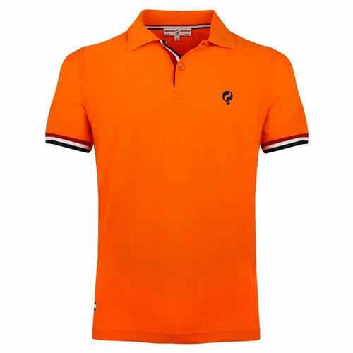 Heren Polo Joost Luiten Dutch Orange
