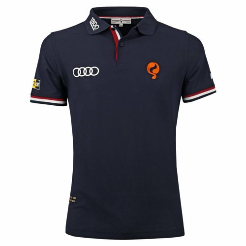 Heren Polo Joost Luiten Limited Edition Deep Navy