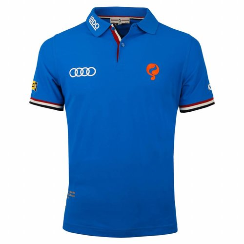 Heren Polo Joost Luiten Limited Edition Dutch Blue