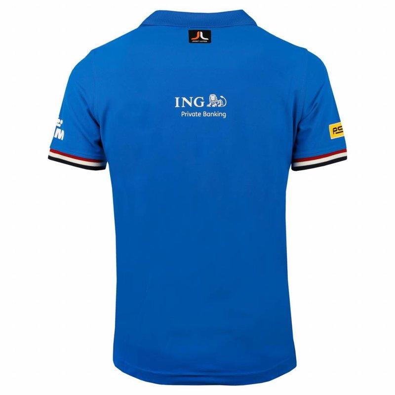 Heren Polo Joost Luiten Limited Edition Dutch Blue
