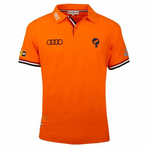 Heren Polo Joost Luiten Limited Edition Dutch Orange