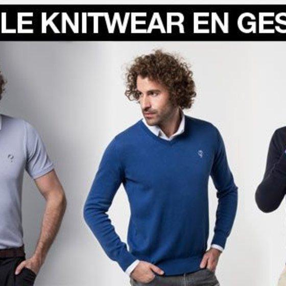 -50% Knitwear & Polo's