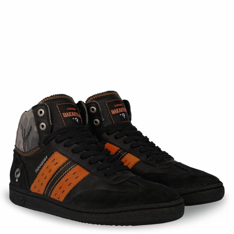 Men's Dakar Sneaker Paraguay Black / Orange