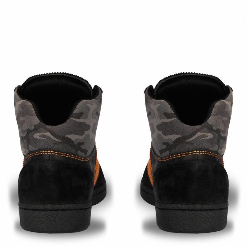 Heren Dakar Sneaker Paraguay Black / Orange