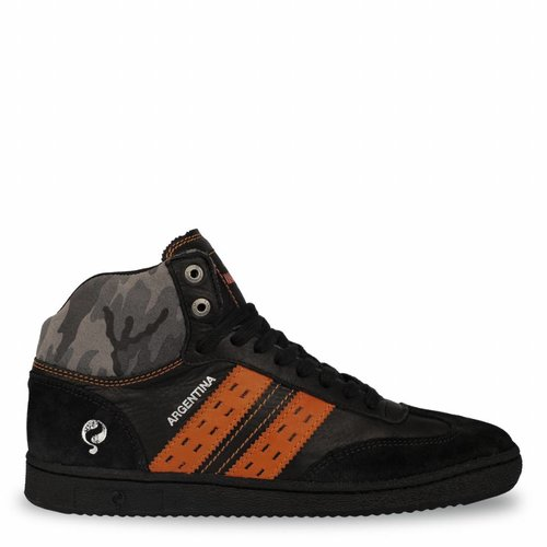 Heren Dakar Sneaker Argentina Black / Orange