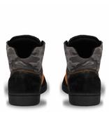 Men's Dakar Sneaker Argentina Black / Orange