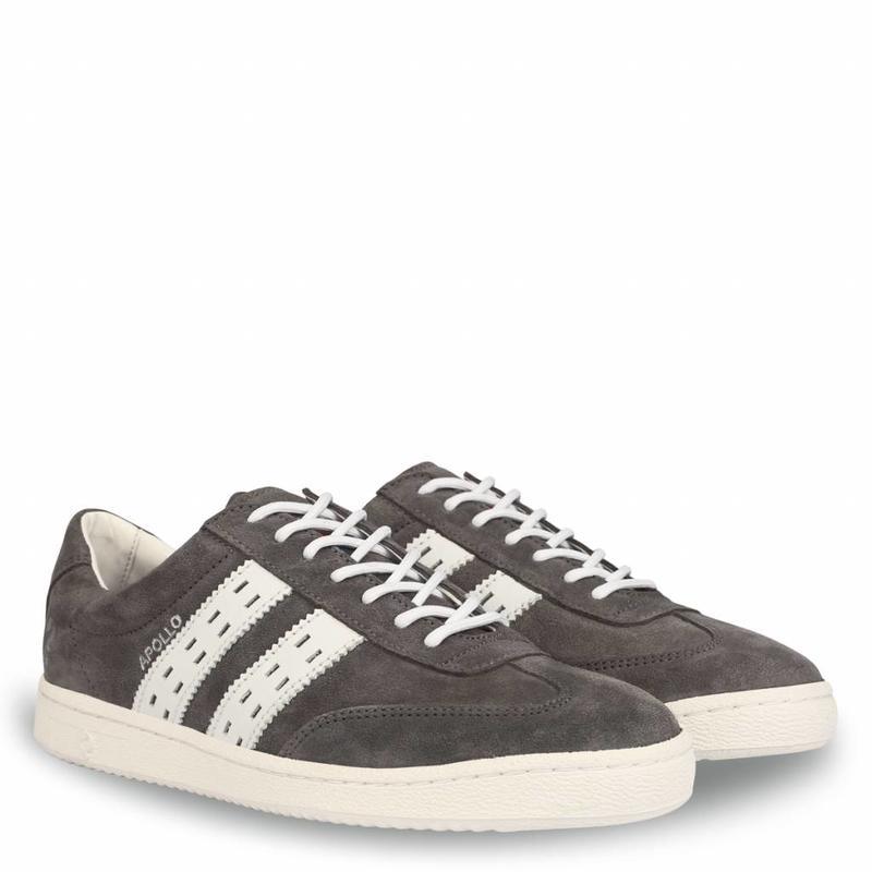 Heren Sneaker Apollo Dk Gull / White