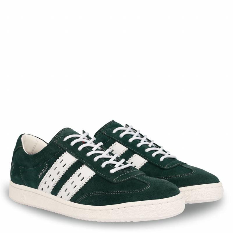 Heren Sneaker Apollo Dk Teal / White