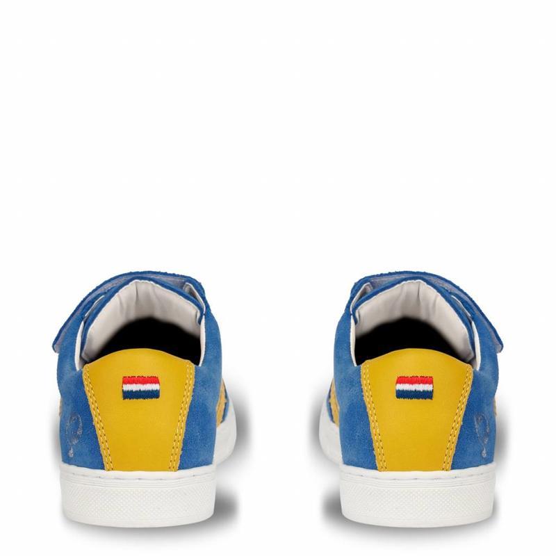 Kids Sneaker Apollo JR Velcro Skydiver / Blazing Yellow