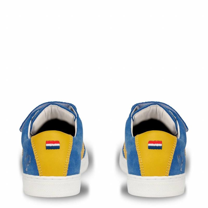 Kids Sneaker Legend '69 JR Velcro Skydiver / Blazing Yellow