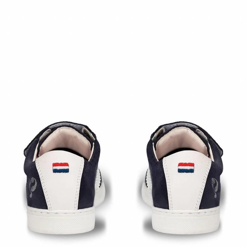 Kids Sneaker Legend '69 JR Velcro Deep Navy / White