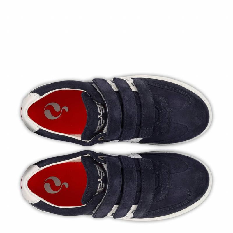 Kids Sneaker Apollo JR Velcro Deep Navy / White
