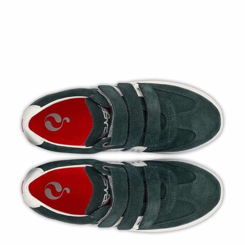Kids Sneaker Legend '69 JR Velcro Dark Teal / White
