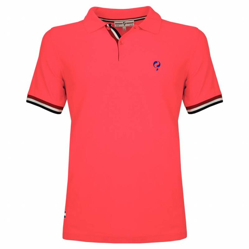 Men's Polo Joost Luiten Lightning Pink