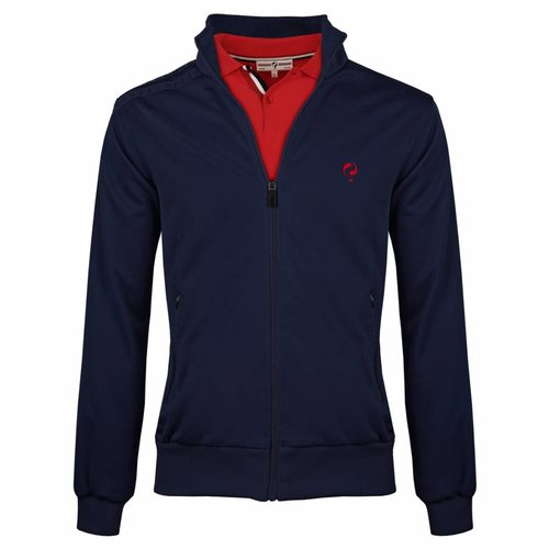 Heren Jacket Kelton Navy Red/Navy