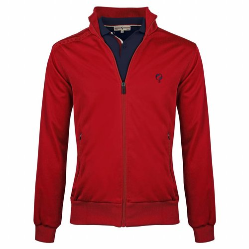 Heren Jacket Kelton Red Navy/Red