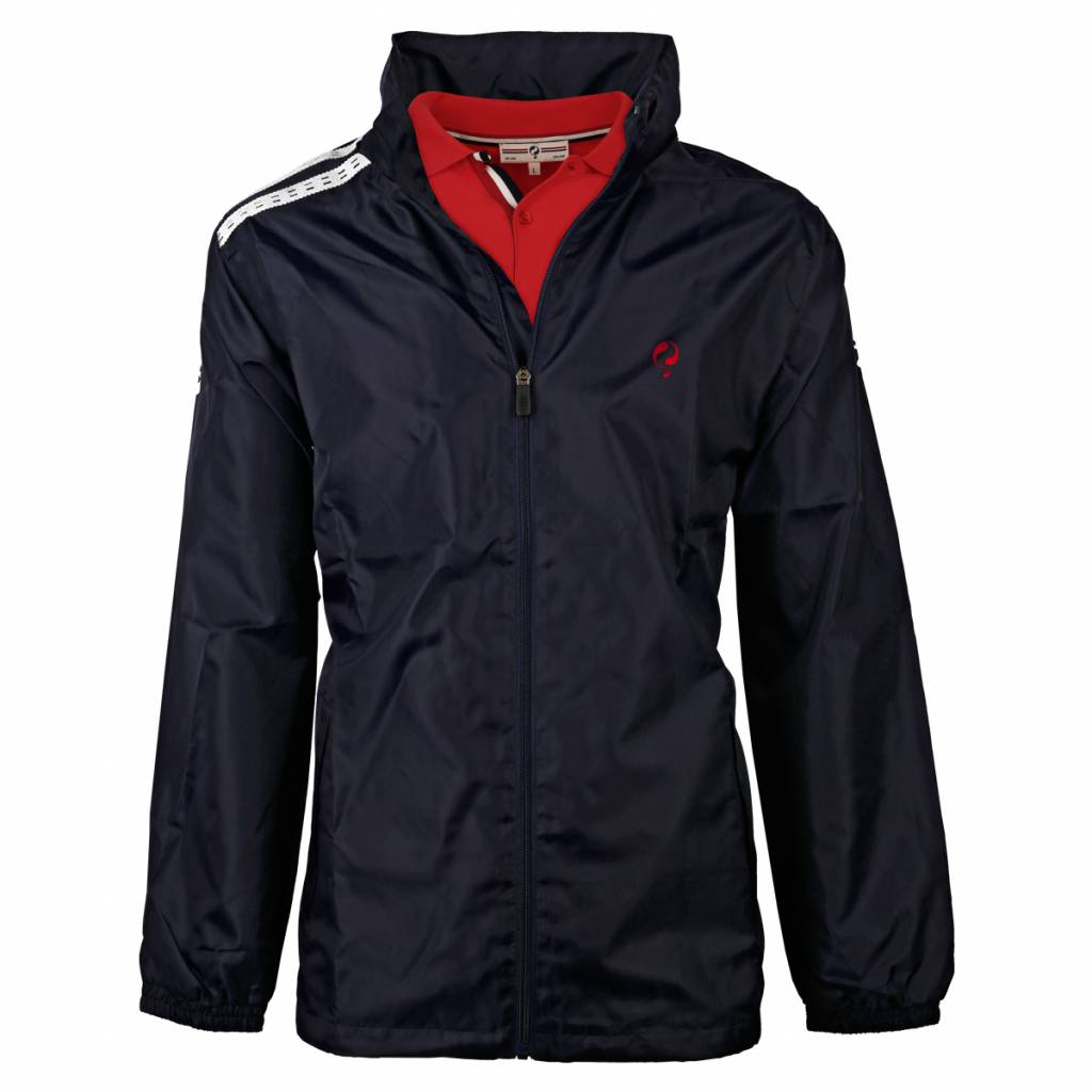Heren Jacket Koby Navy Navy/Red