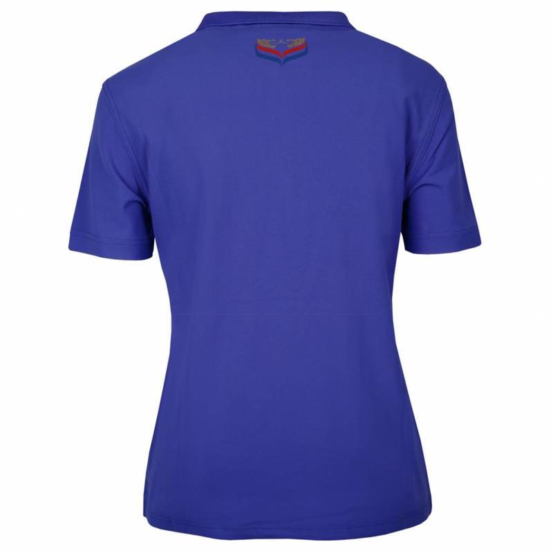 Q1905 Women's Polo Square Dazzling Blue