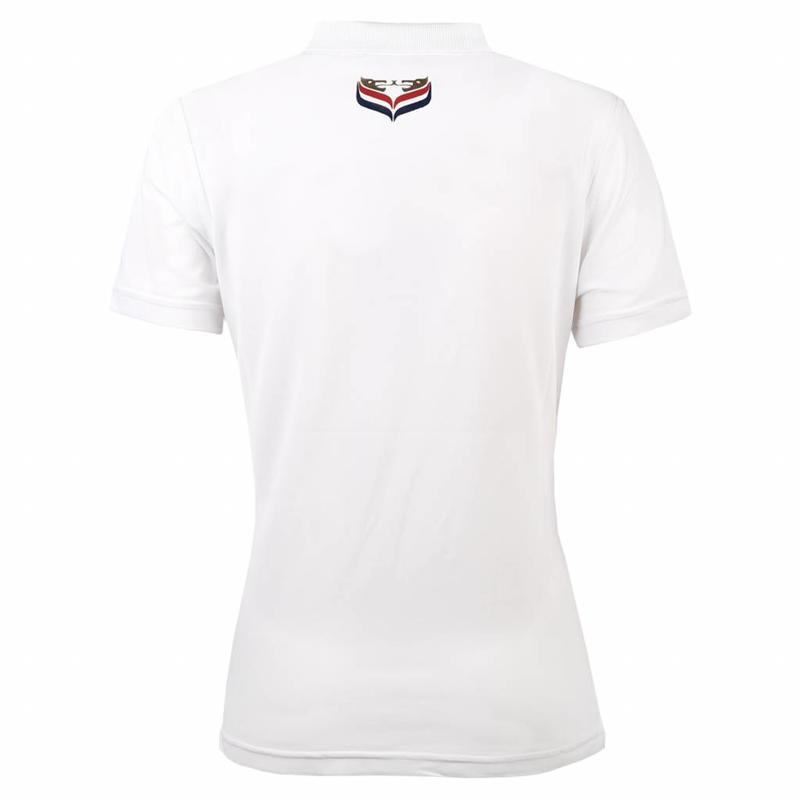 Women's Polo Square White