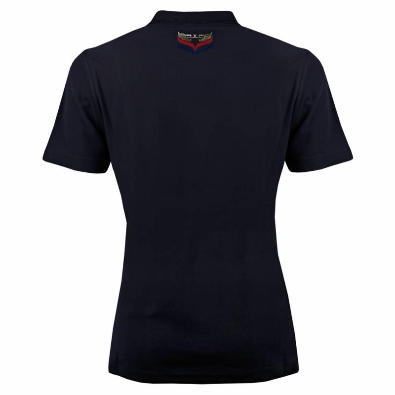 Q1905 Women's Polo Square Deep Navy