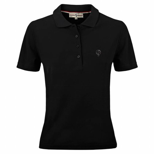 Women's Polo Square Black