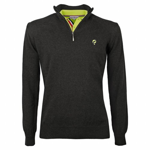 Men's Pullover Half Zip Stoke Antracite