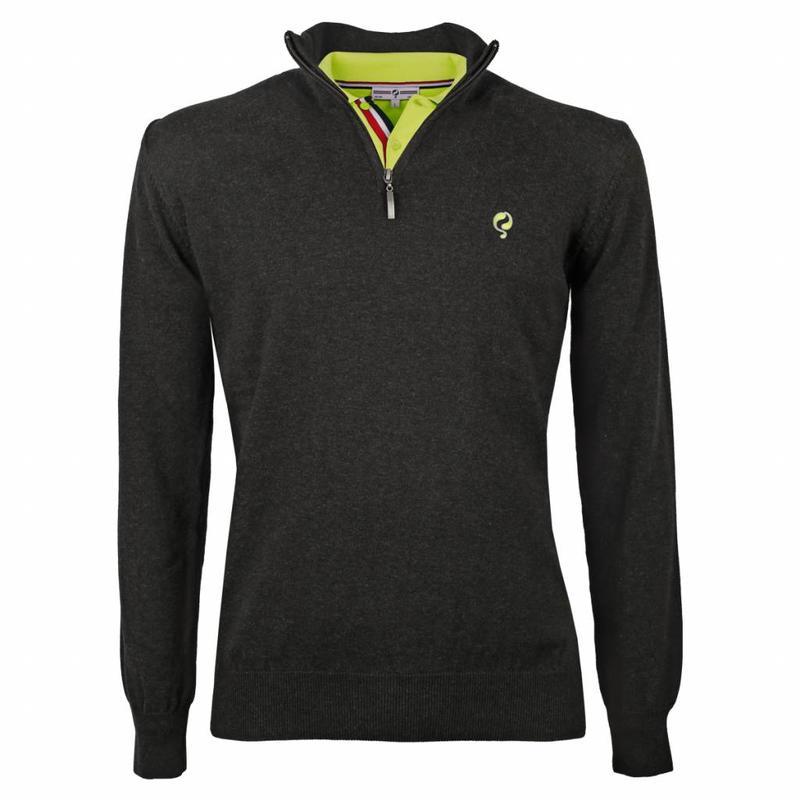 Men's Pullover Half Zip Stoke Antracite