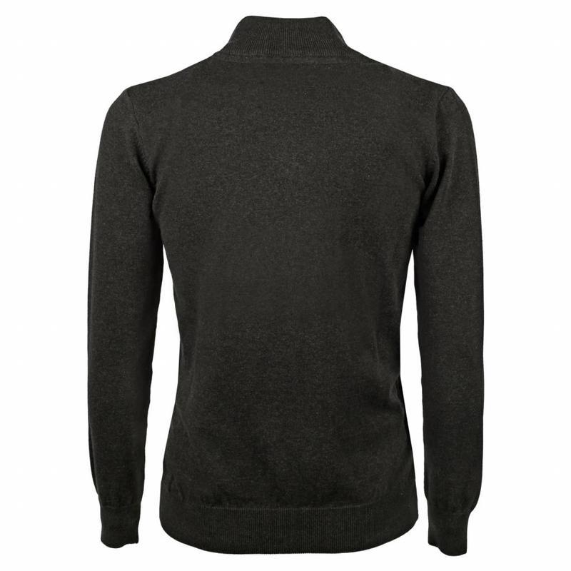 Heren Pullover Half Zip Stoke Antracite
