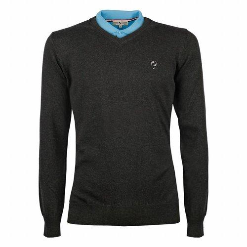 Men's Pullover V-neck Marden Antracite