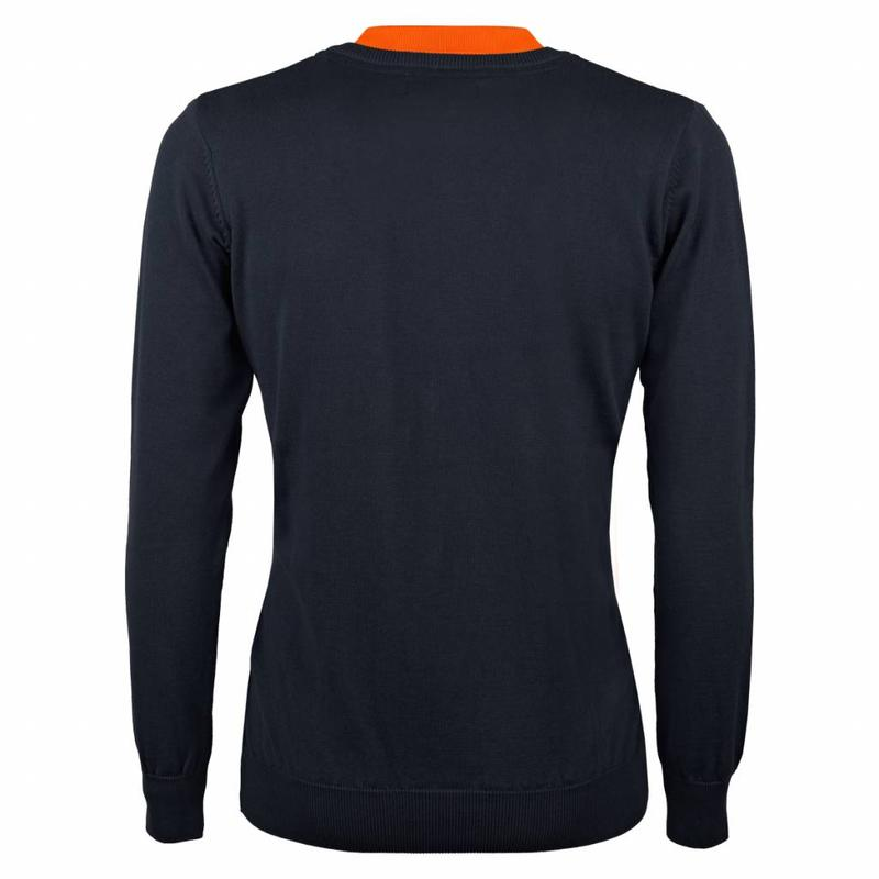Men's Pullover V-neck Marden Deep Navy