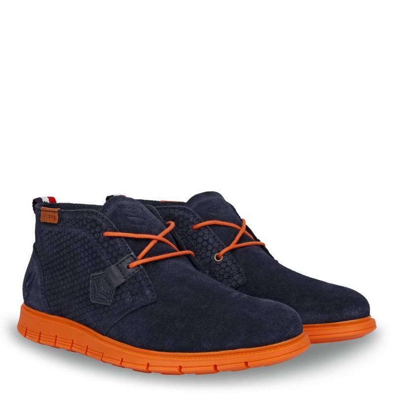 Men's Shoe Fabro Deep Navy / Orange