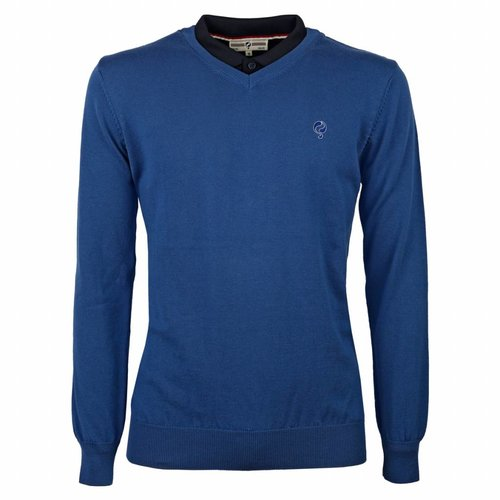 Men's Pullover V-neck Marden Skydiver