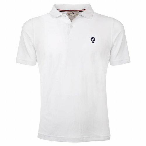 Heren Polo JL Flag White