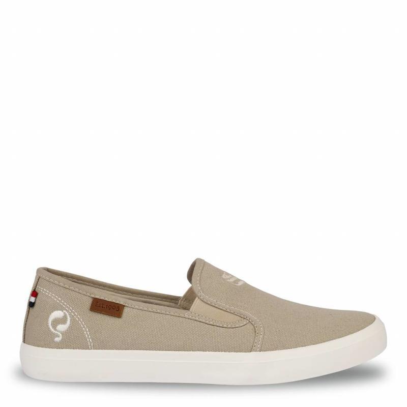 Q1905 Heren Sneaker Lago Taupe Grey