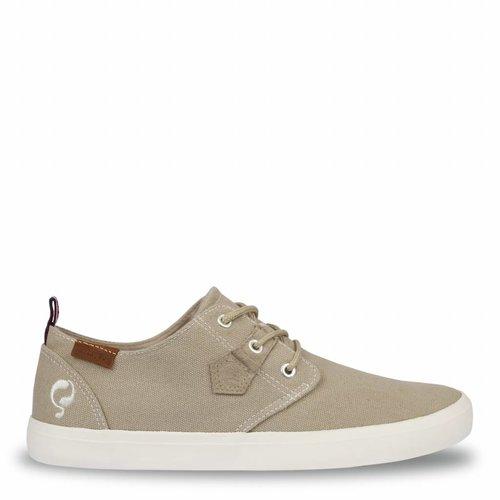 Heren Sneaker Elba Taupe Grey