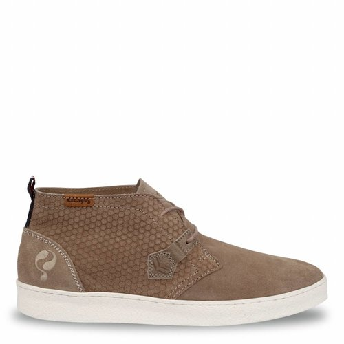 Men's Shoe Bradon Taupe / Cloud Dancer