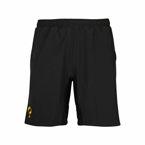 Tennis Shorts Break Black / Yellow